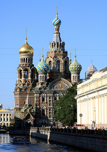 Church of the Saviour on Spilled Blood on Griboedova Canal.