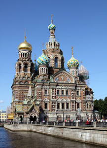 Church of the Saviour on Spilled Blood (or Church of the Resurrection) was built between 1883 and 1907 on the spot where Alexander II was blown up by the People's Will terrorist group in 1881.