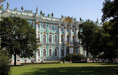 Another view of the Winter Palace.