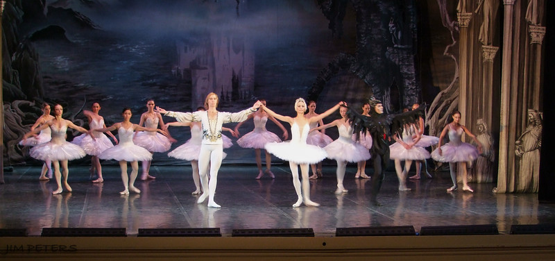 """Russian Ballet - """"Swan Lake"""" in the Hermitage Theater"""