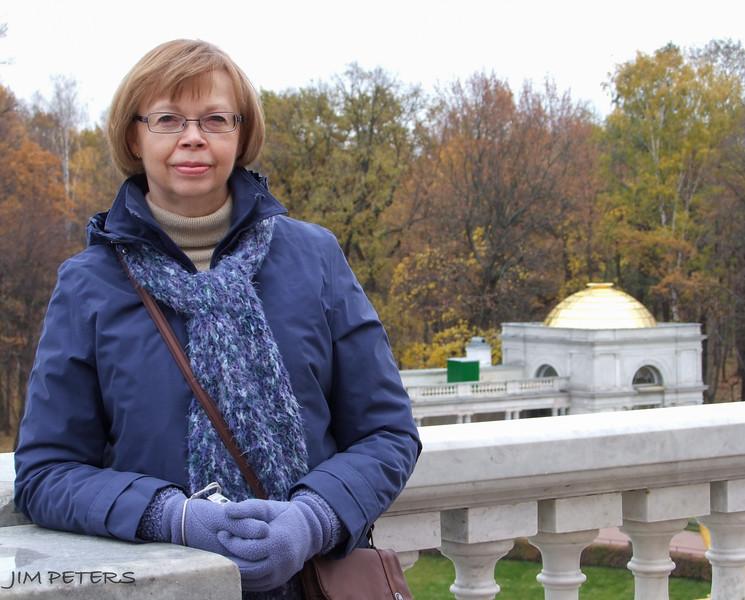 Jan at the Peterhof