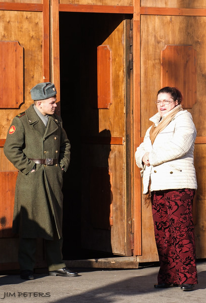 Russian Soldier and Citizen