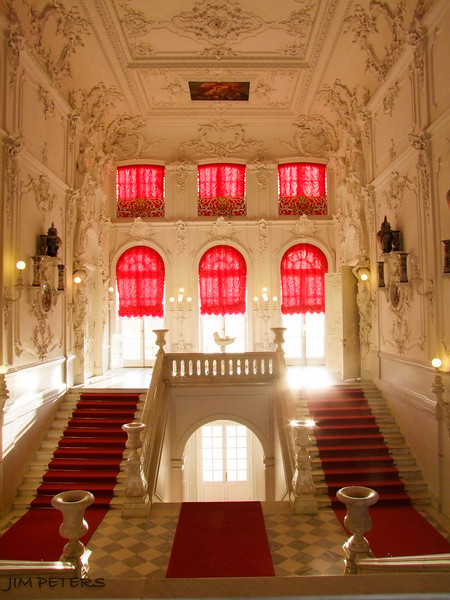 Beautiful Entry to Summer Palace of Catherine the Great