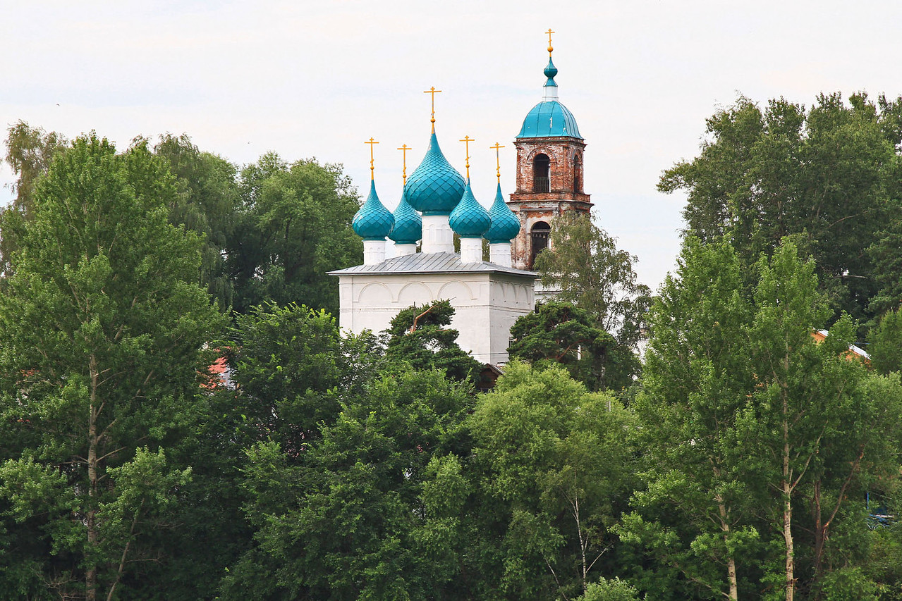 Churches Along the Volga River