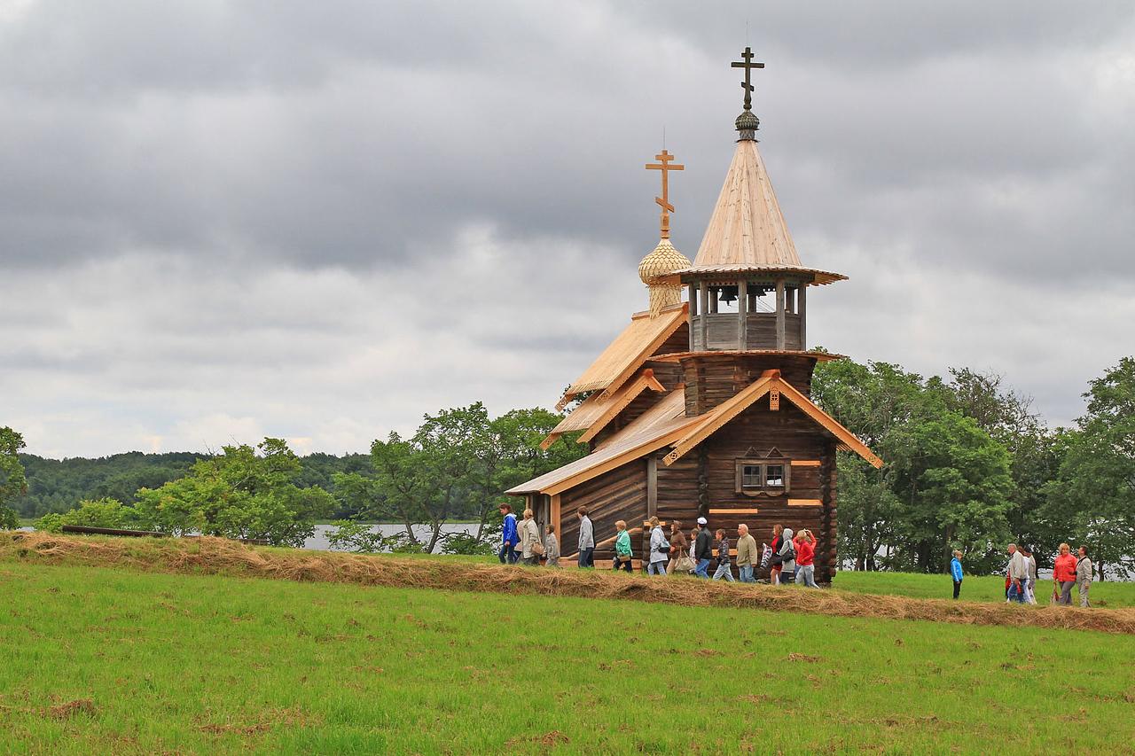 Small Church - Kizhi Island
