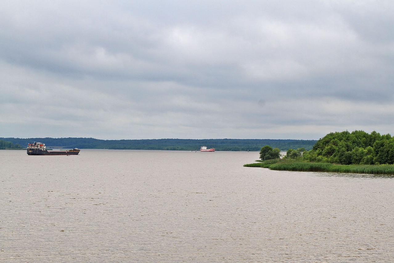 Morning  Cruising the  Sheksna River / White Lake