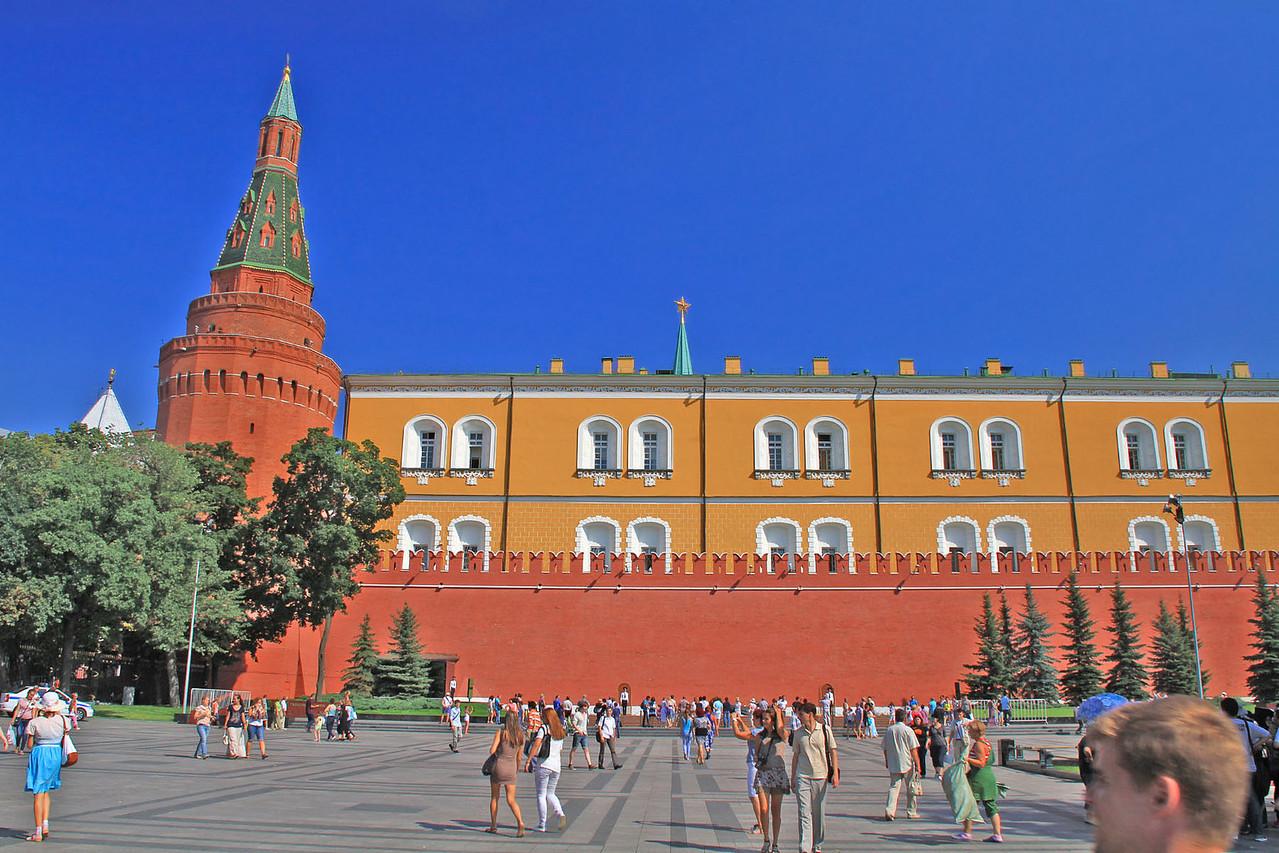 Corner Arsenal Tower & Arsenal Behind Kremlin Wall