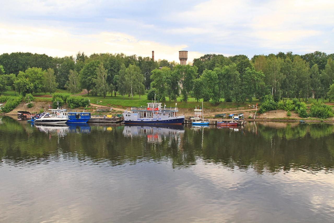 Morning Cruising the Volga River