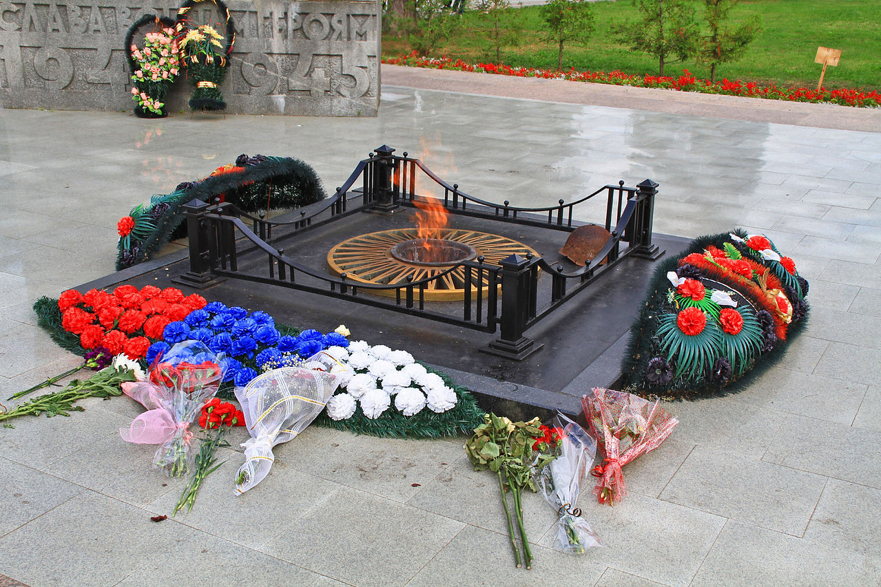 War Memorial Flame