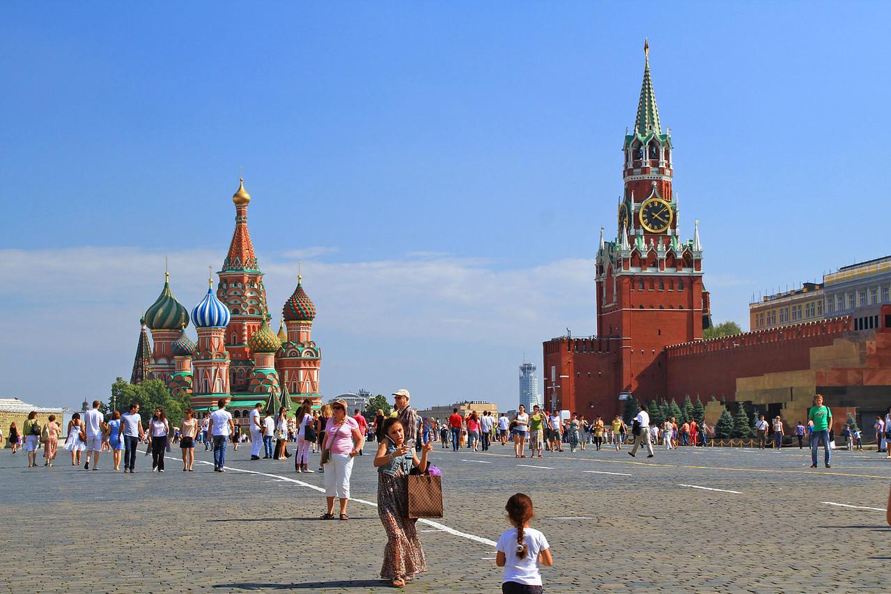 St Basil's Cathedral, Saviour's Tower, & Lenin's Mausoleum
