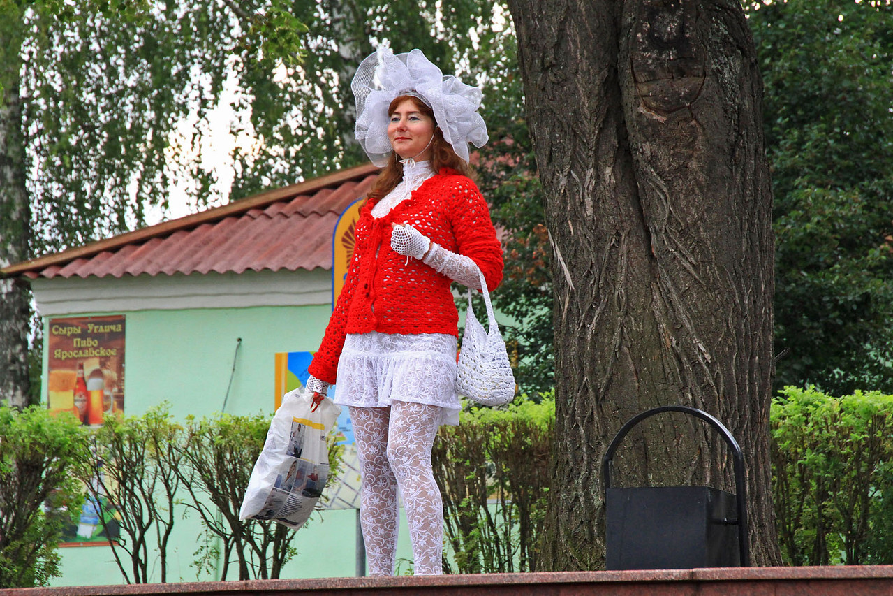 Lady Greeter into Uglich