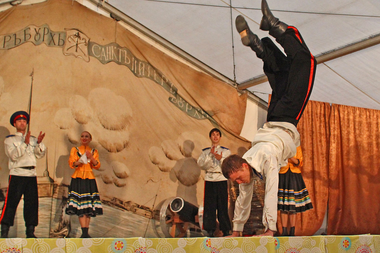 Cossack Folkloric Show at River Terminal
