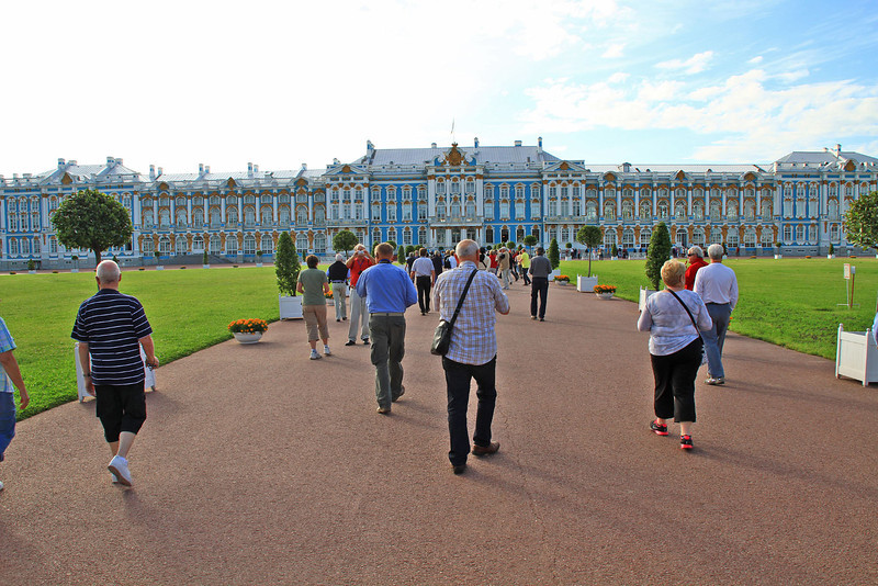 Catherine's Palace in Tsarskoe Selo
