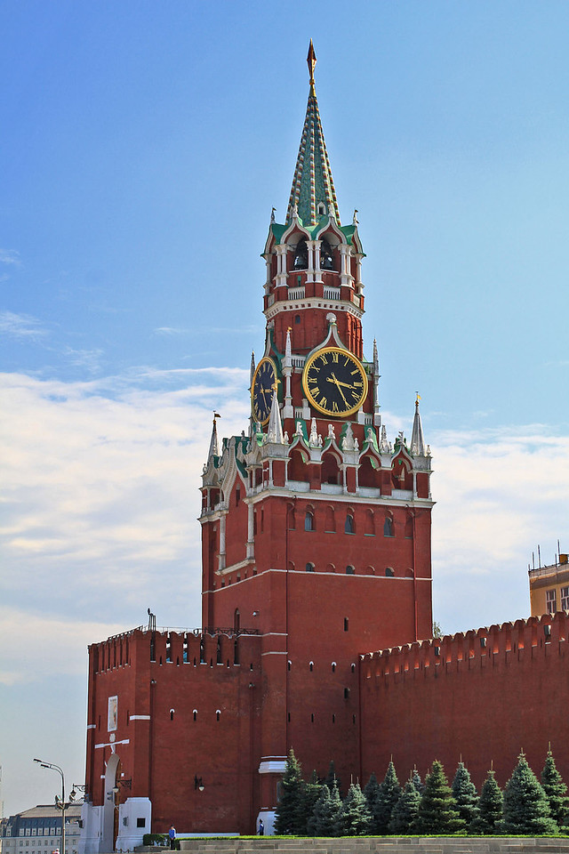 Saviour's Tower - Kremlin Wall