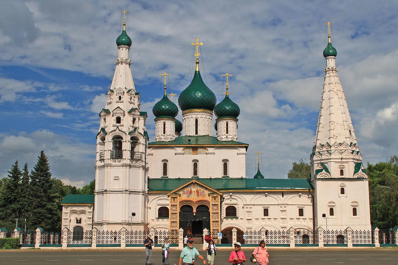 Church of Elijah the Prophet - Yaroslavl