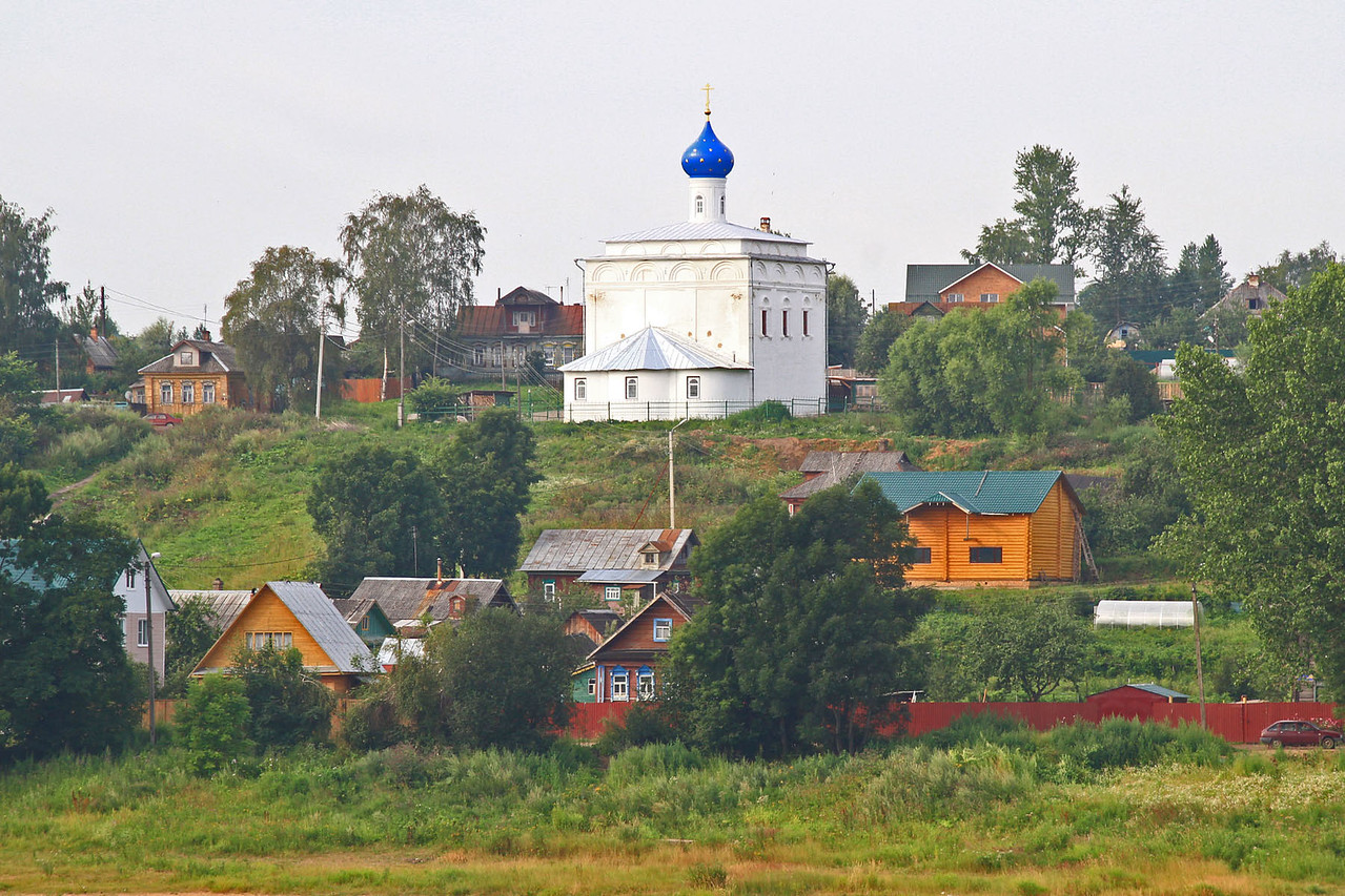 Churches Along the Volga River