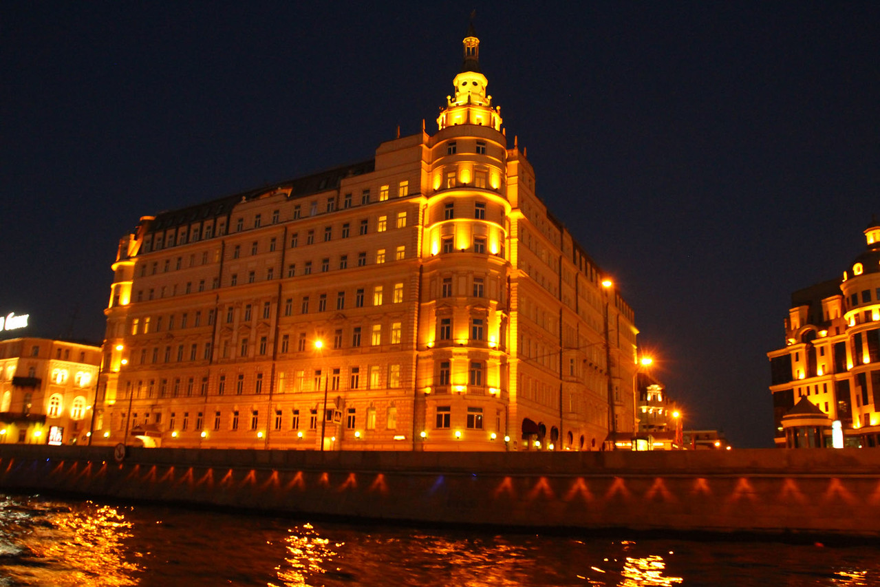 Moscow at Night Riverboat Cruise