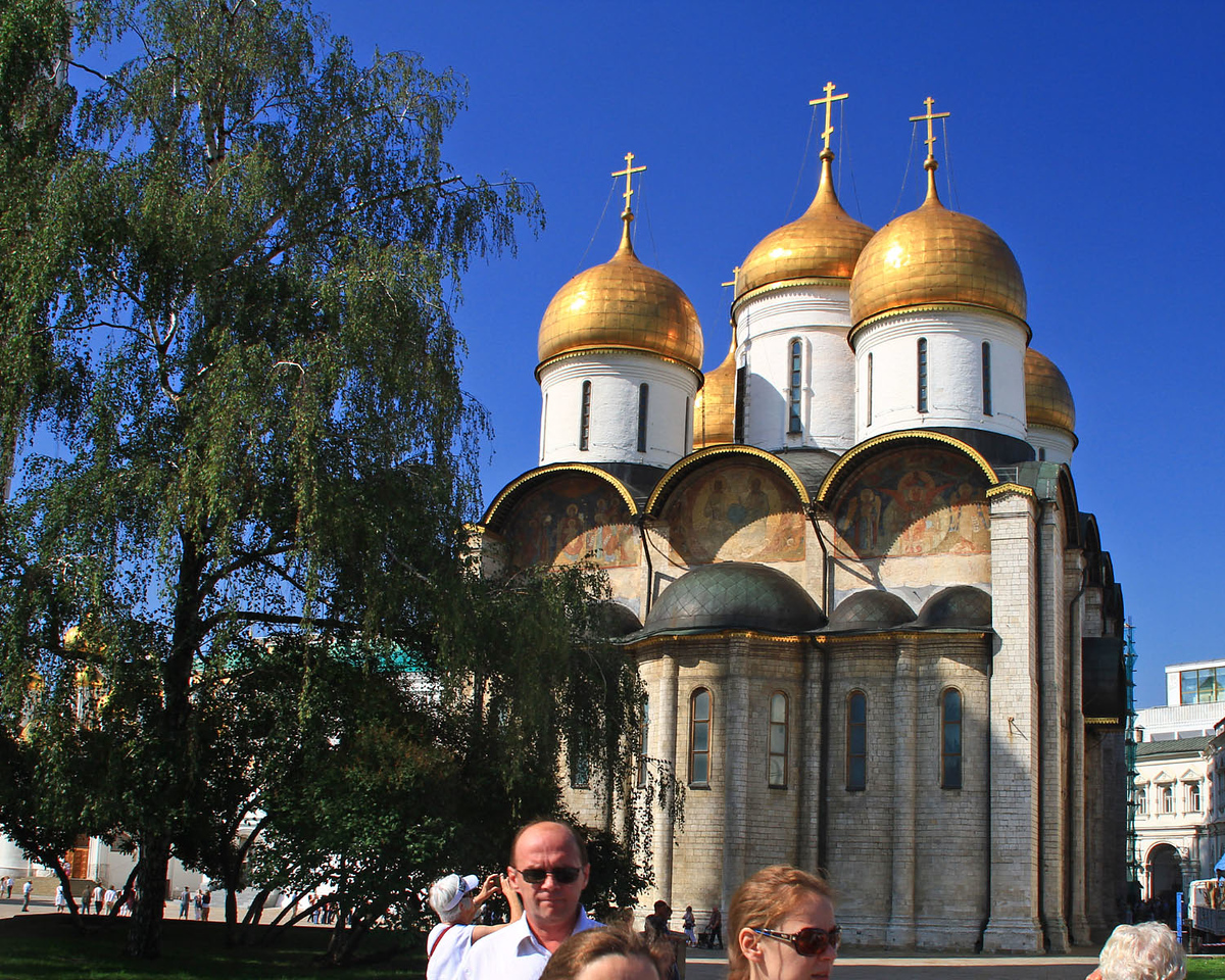 Cathedral of the Dormition - Kremlin