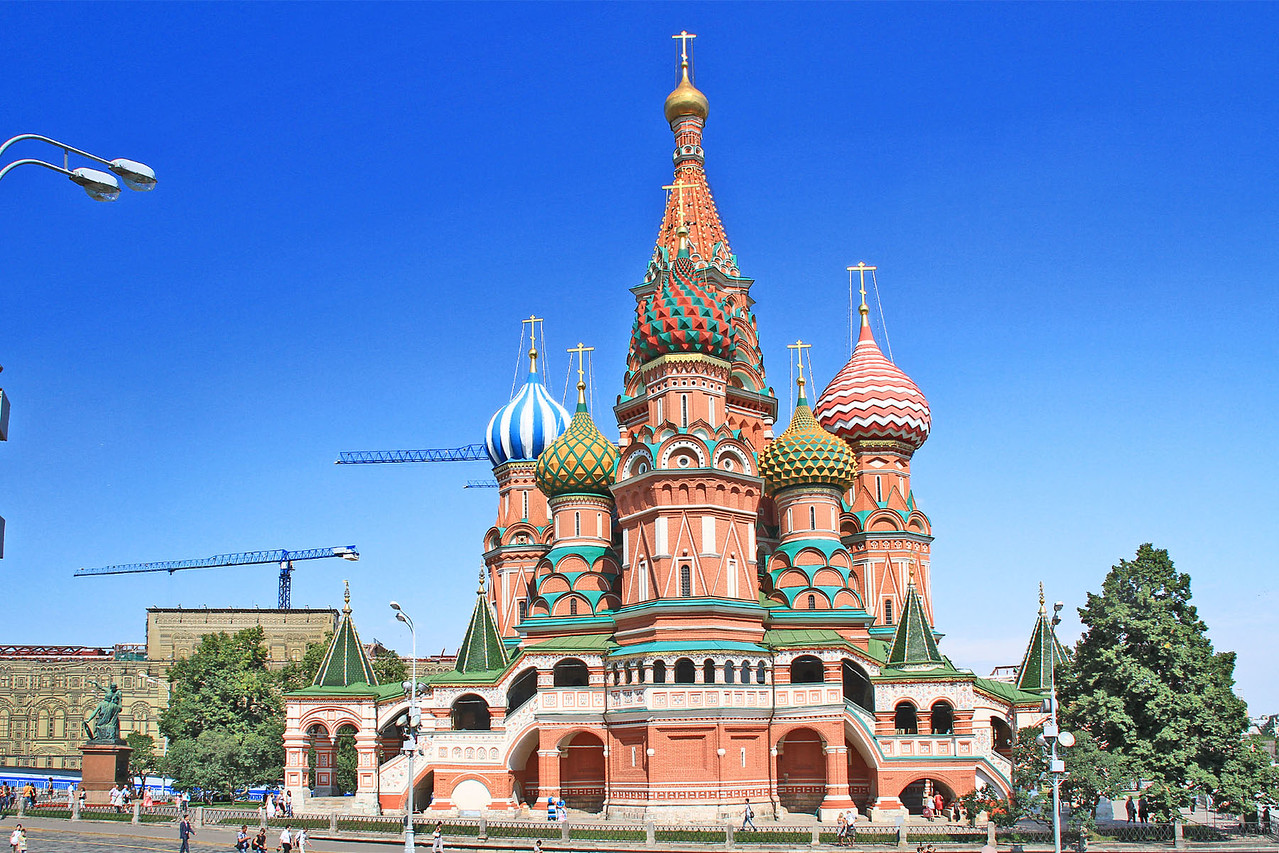 St. Basil's Cathedral - Red Square