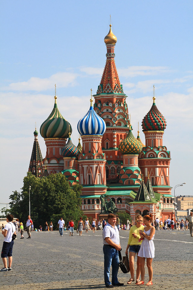 St. Basil's Cathedral from Red Square