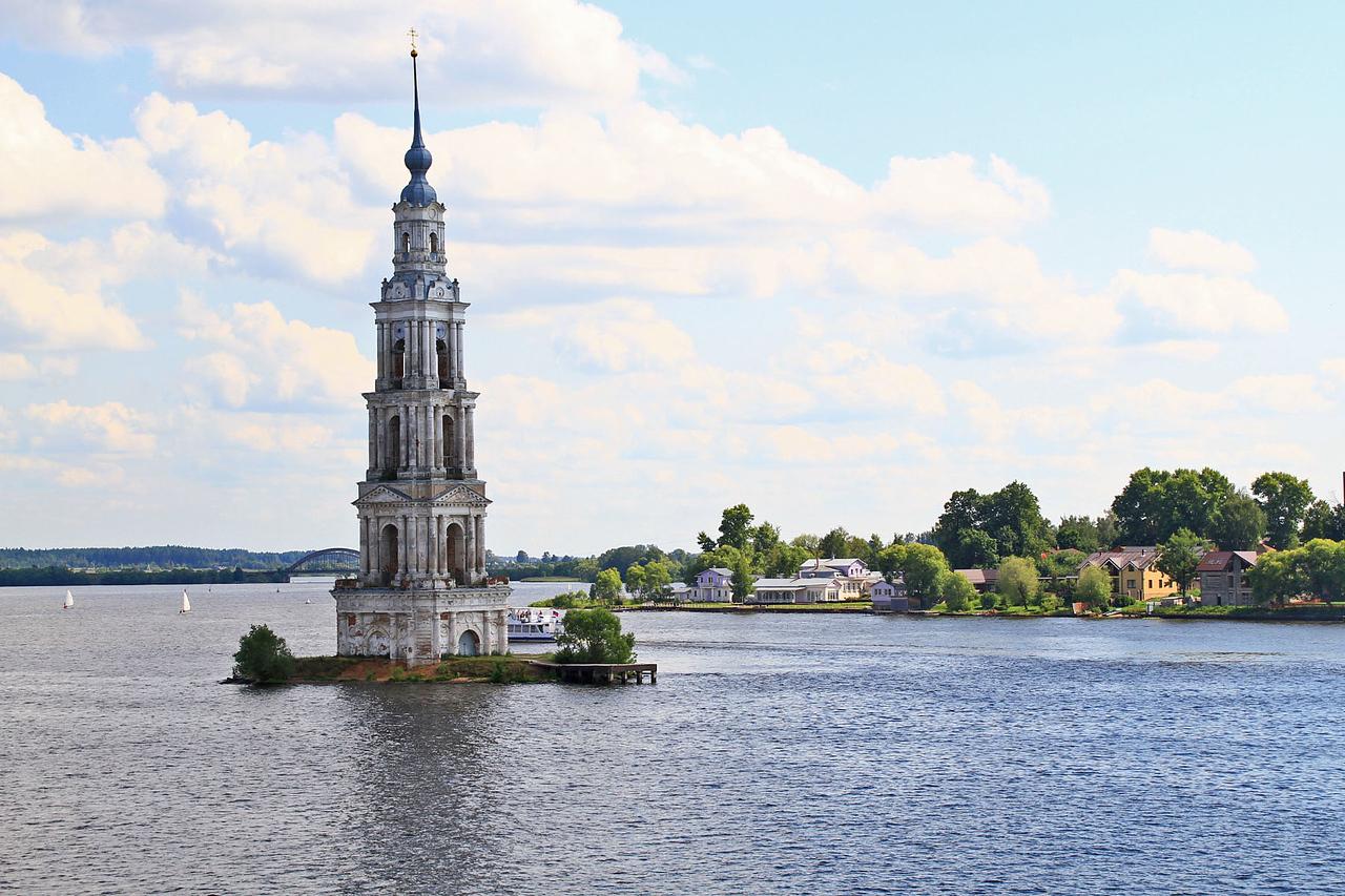 Afternoon Cruising the Volga River