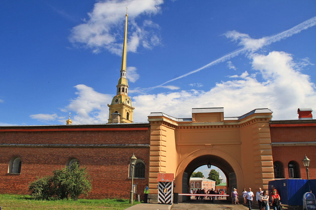 Peter & Paul's Fortress Gate