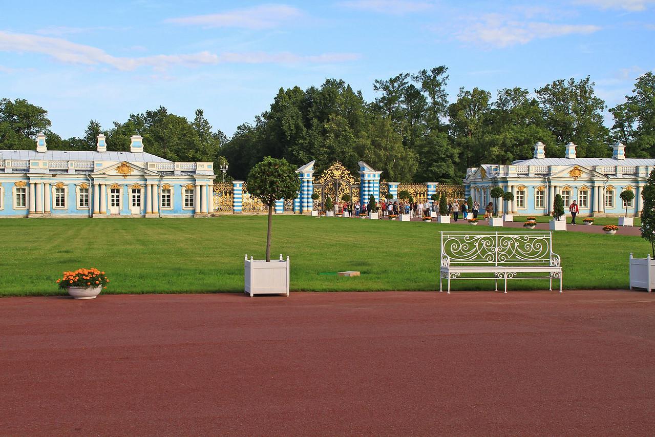 Catherine's Palace in Tsarskoe Selo