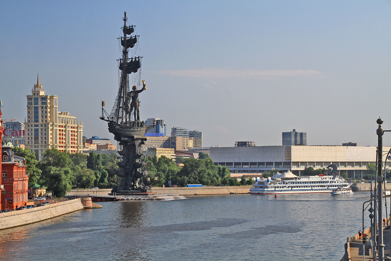 Monument to Peter the Great - Moskva River