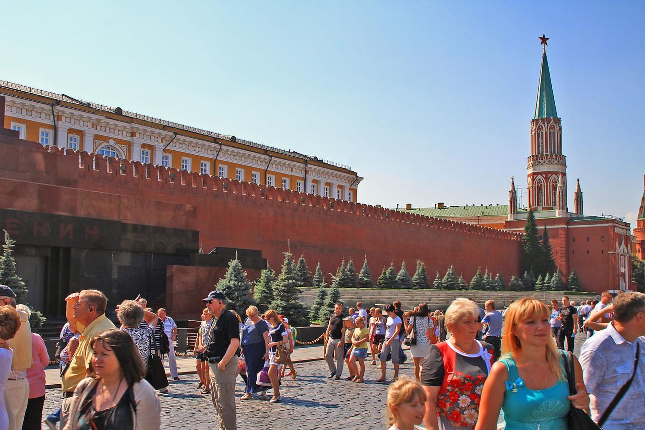 Lenin's  Mausoleum & Nicholas' Tower
