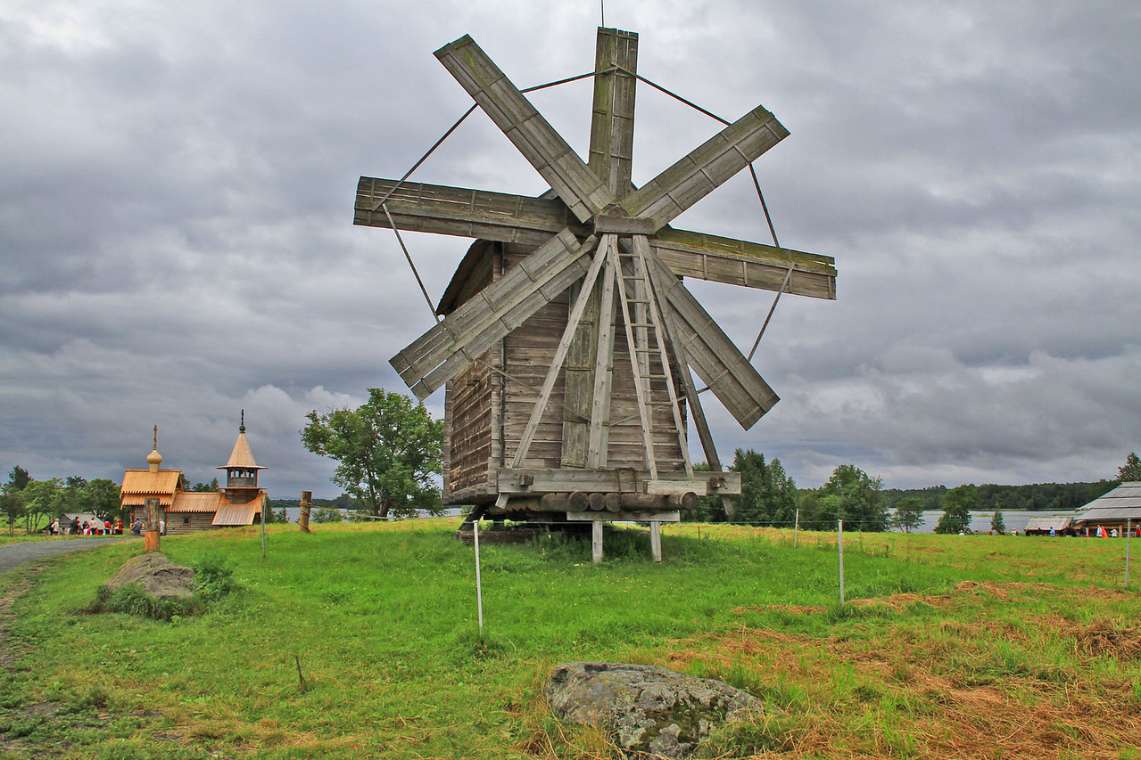 Windmill Power - Kizhi Island