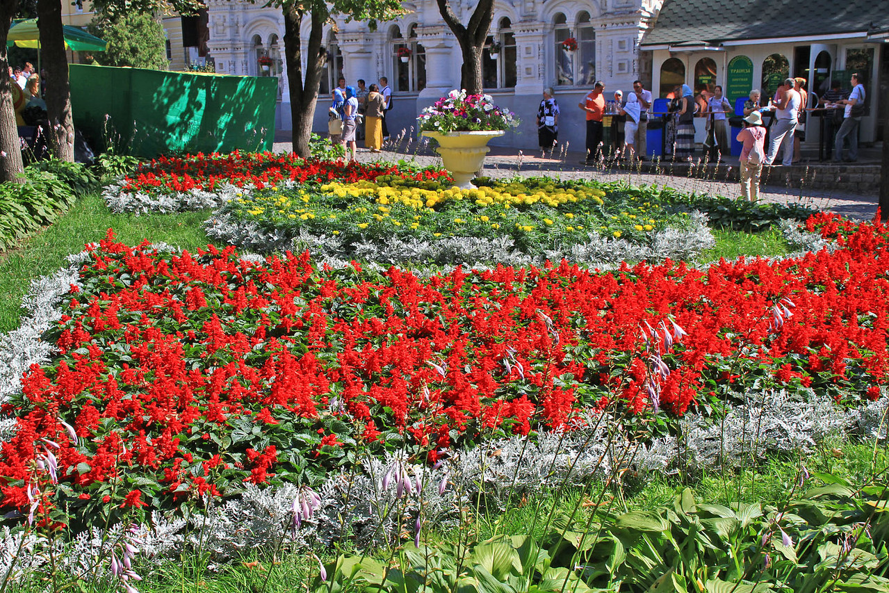 Trinity - St. Sergius Monastery Gardens