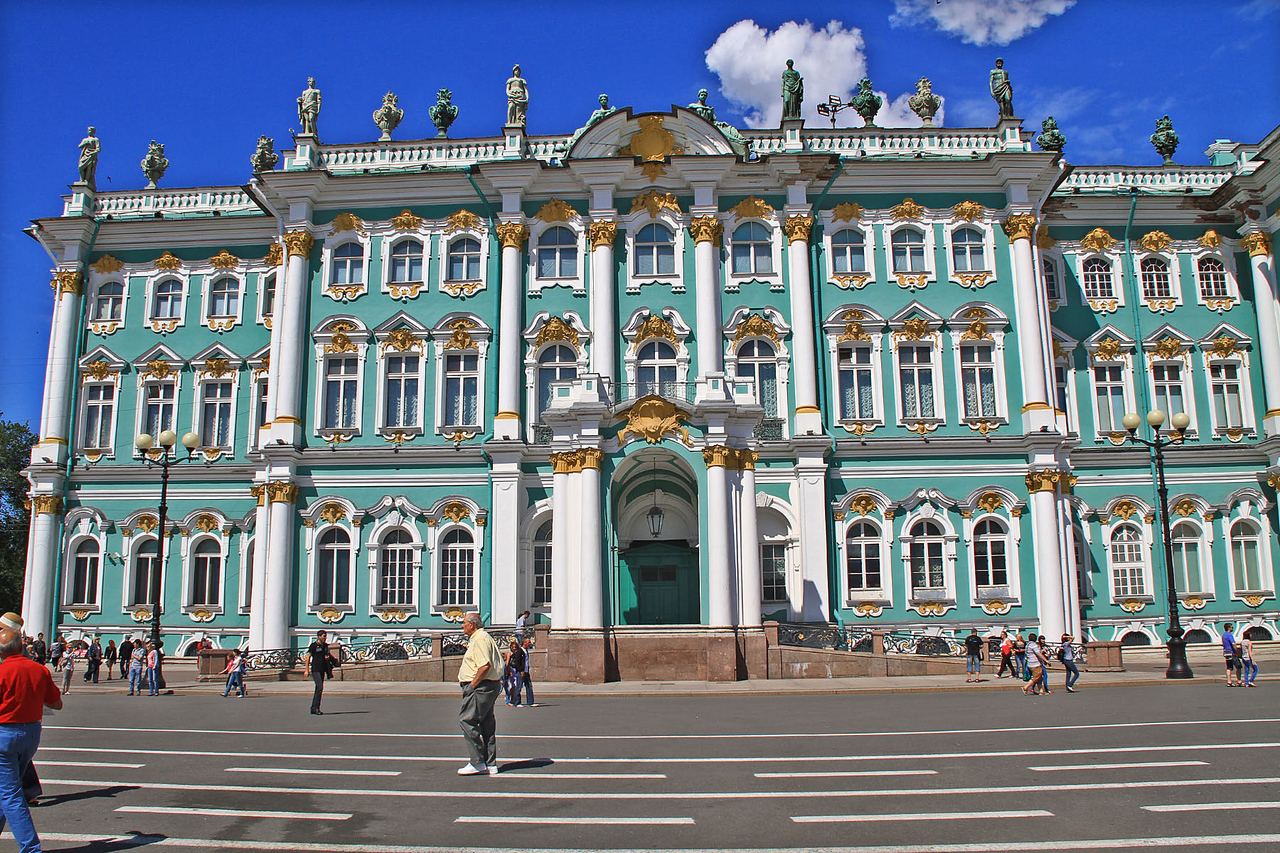 The Hermitage & Winter Palace