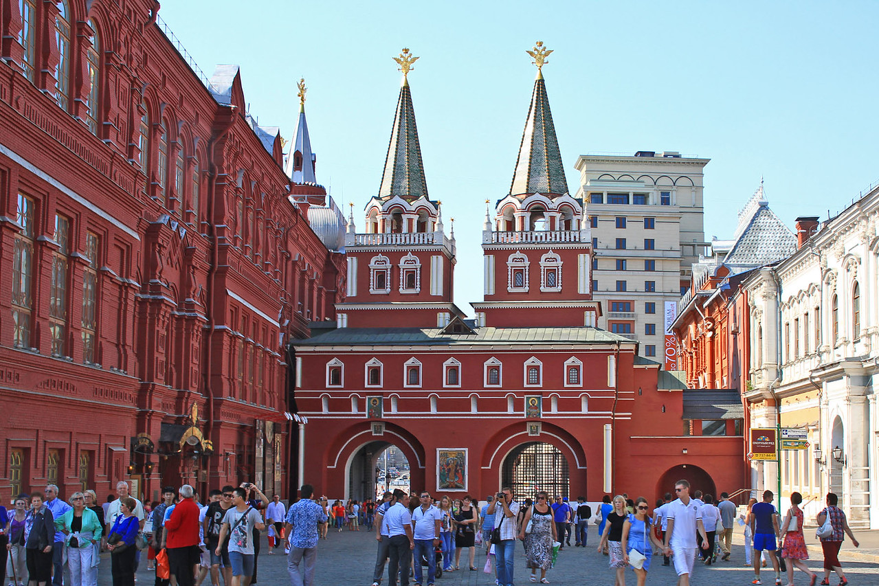 Resurrection Gate from  Red Square