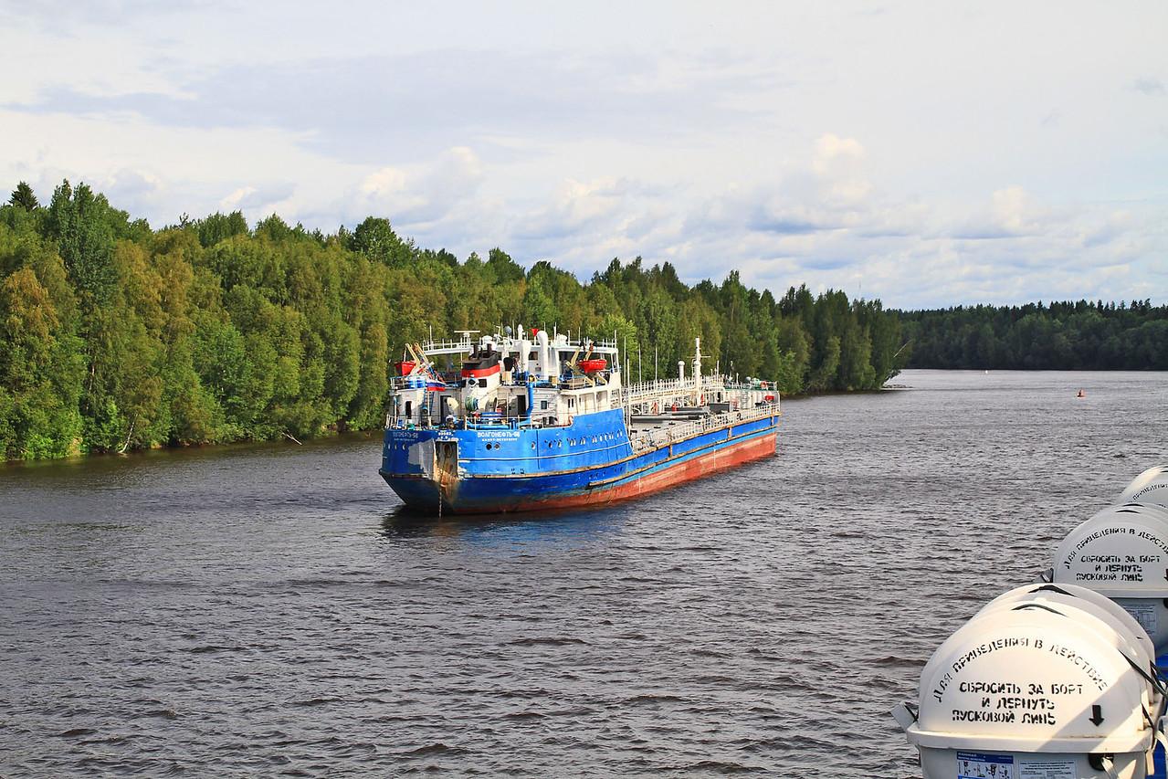 Morning Cruising the  Svir River