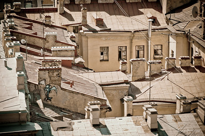 крыши с ангелами