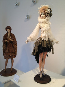 2012.12 The exhibition of dolls