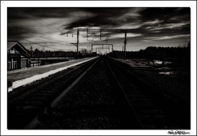 Taken at the Kultushnaya station in March, 2005. This photo was edited in Photoshop with Nik Efex filters.