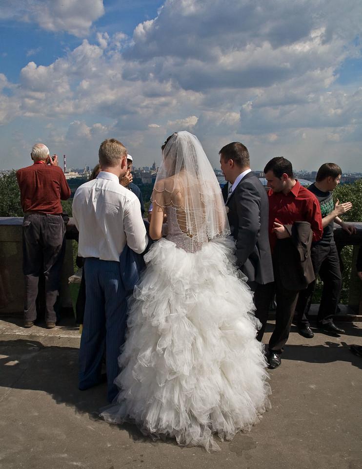 White Peacock wedding dress.