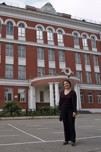 Natasha at her high school (School 179)