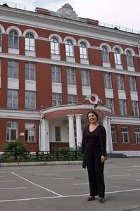 Natasha at her high school (School 179)