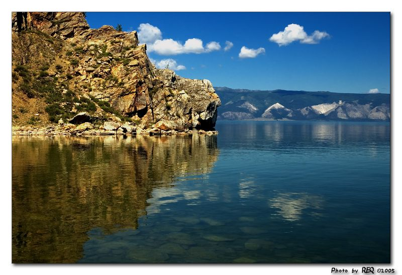 Color shot of the Lake. Do you prefer color.....