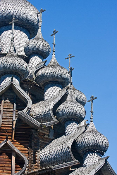 Kizhi Island Wooden Church.