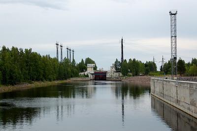 Svirstroy Locks, River Sver, Russia. 12.2m rise.