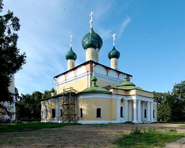 Transfiguration Cathedral inside Kremlin, Uglich.