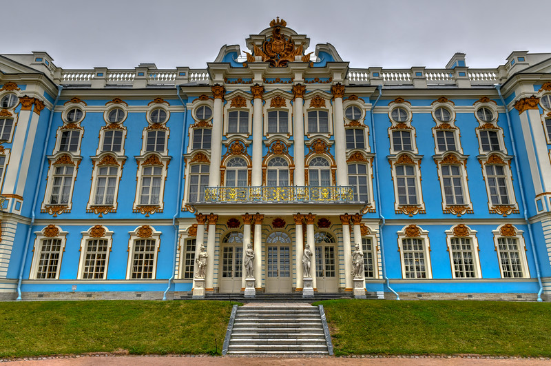Catherine Palace - Pushkin, Saint Petersburg, Russia