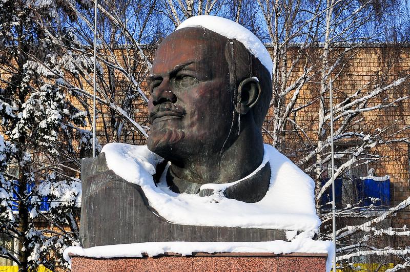 Bust of Lenin - Khimki, Russia