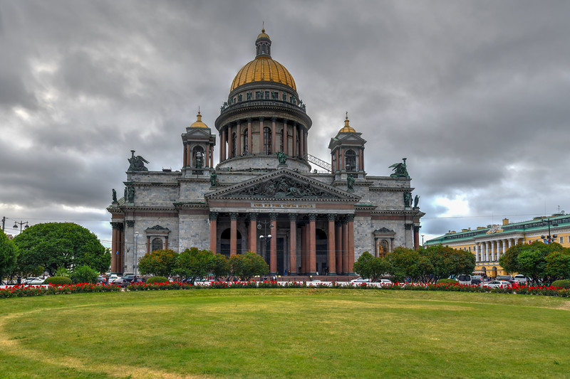 Saint Isaac Cathedral - Saint Petersburg, Russia