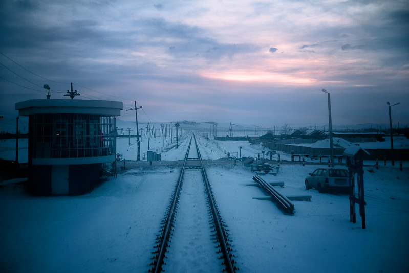Views from the train in Eastern Siberia, bound for Irkutsk.