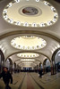The Moscow Metro.