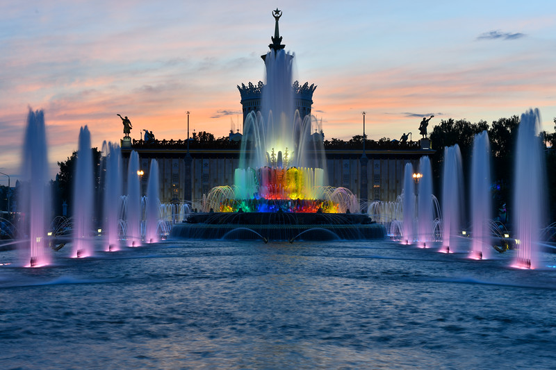 Stone Flower Fountain - Moscow, Russia
